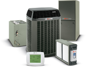 trane-air-conditioning-heating-product-collage